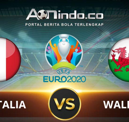Prediksi Pertandingan Italia vs Wales