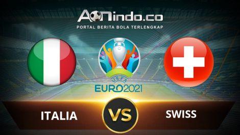 Prediksi Skor Pertandingan Italia Vs Swiss