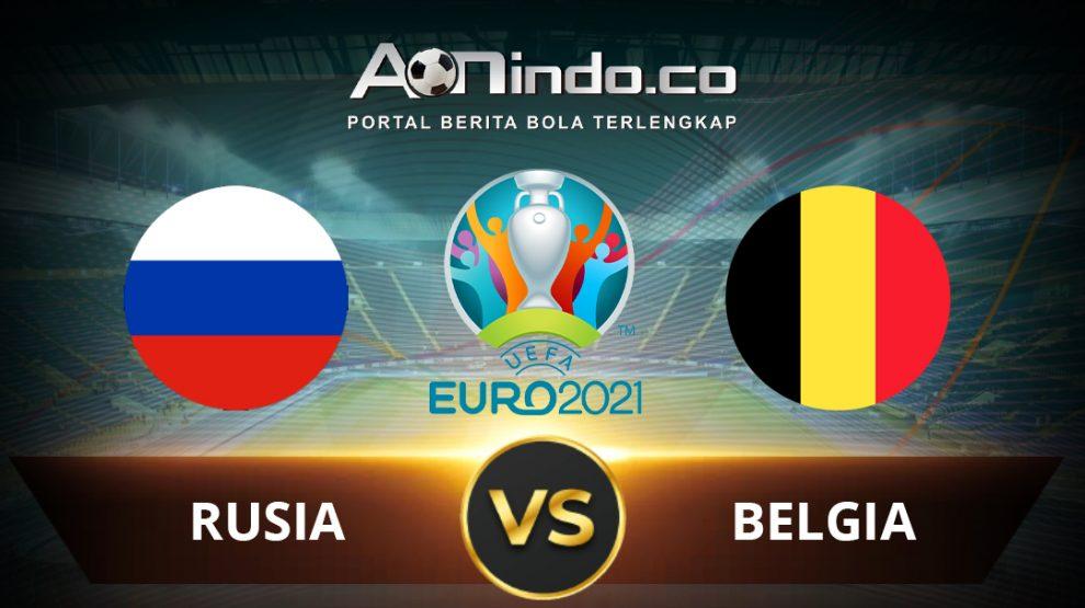 Prediksi Skor Pertandingan Rusia Vs Belgia