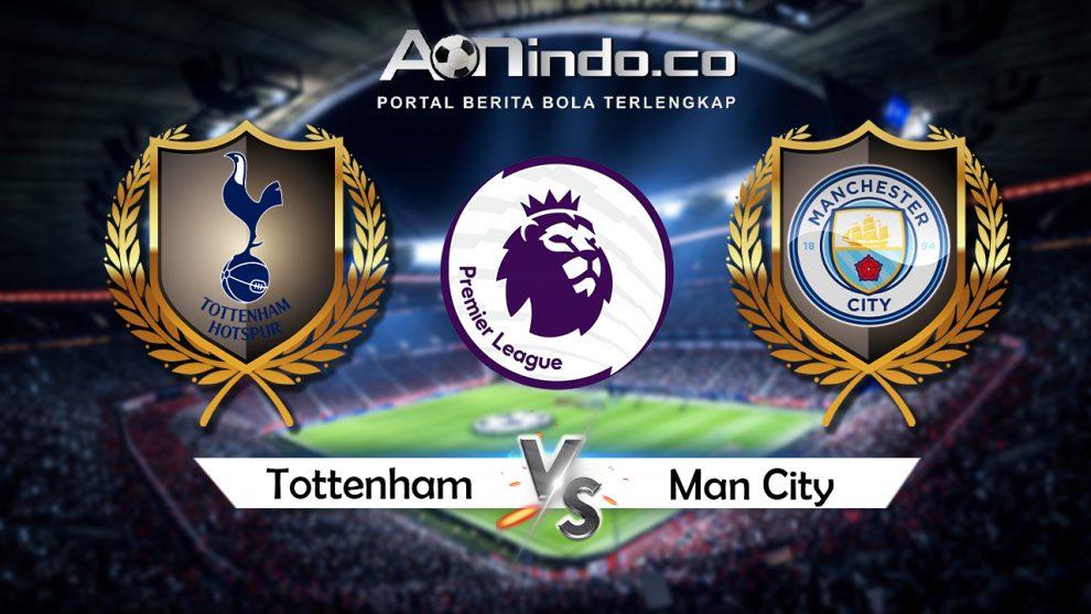 Prediksi Pertandingan Tottenham vs Manchester City